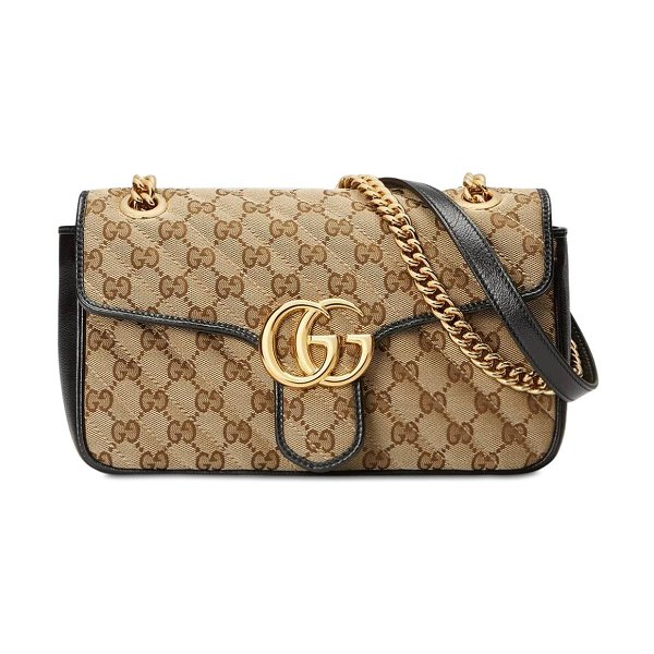 Gucci Small gg marmont 2.0 original gg bag in brown,black
