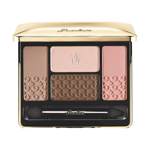 Guerlain Ecrin 4 couleurs eyeshadow palette in 15 les sables - The essence of color: one palette, four shades. Create,...