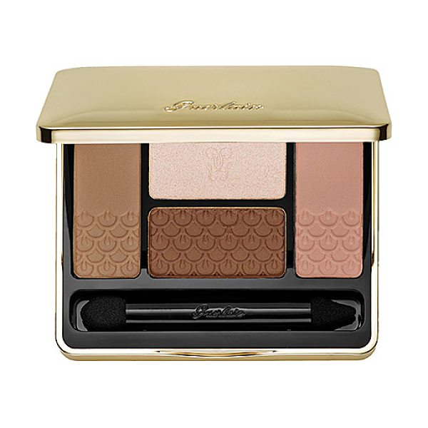 GUERLAIN 4 color eyeshadow palette 15 les sables - An eye shadow palette collection with four shades that...