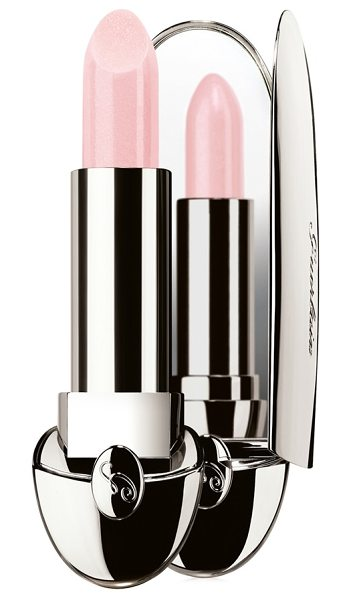 Guerlain 'rouge g de ' lipcolor in rose glace 866 - A jewel lipstick compact with a white-gold shimmer...