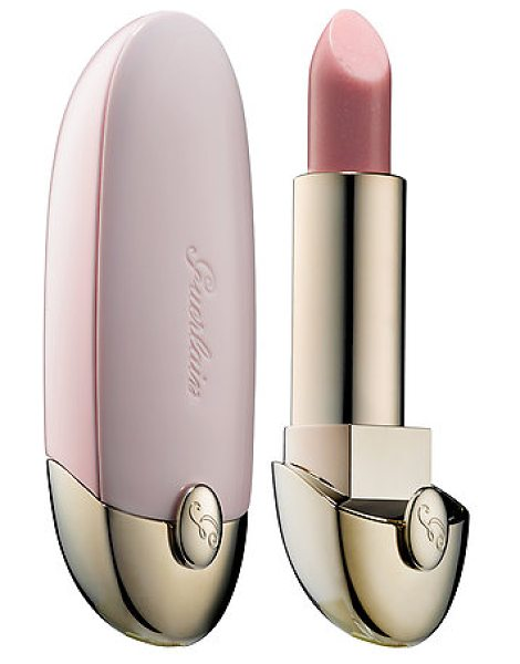 GUERLAIN rouge g intense shine lipstick rose glace 866 - A shimmering, ruby-powder lipstick tucked inside a chic,...