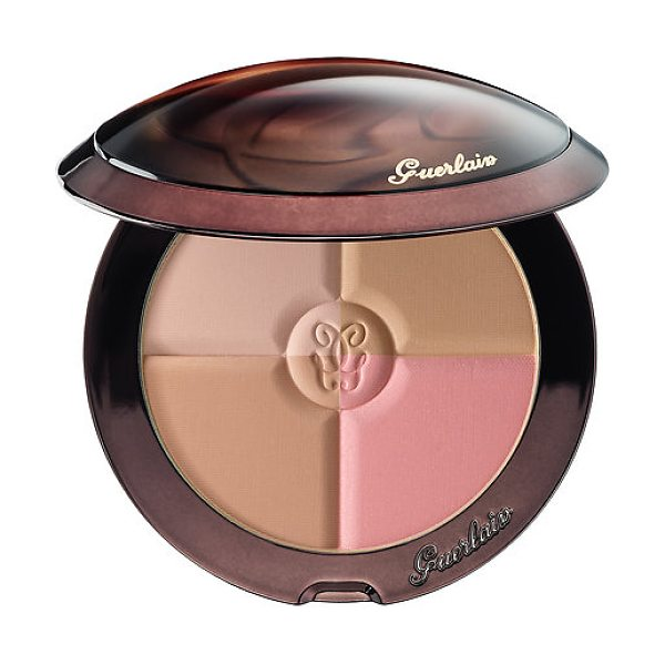 GUERLAIN terracotta 4 seasons contour and bronzing powder 00 nude 0.35 oz/ 10 g - A versatile palette with four buildable, matte shades...