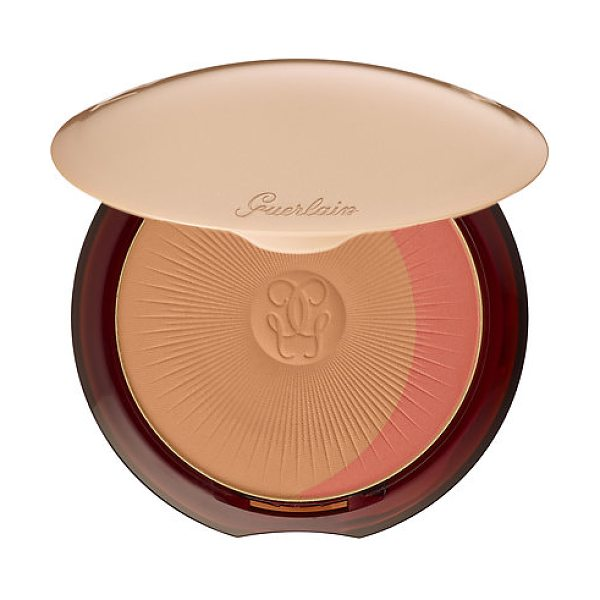 Guerlain terracotta healthy glow blush bronzer powder duo 02 - natural / blondes - A harmony of two shades that give the complexion a...