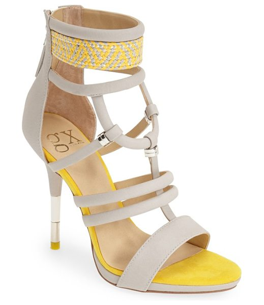 gx by GWEN STEFANI acacia sandal in nude/ orange