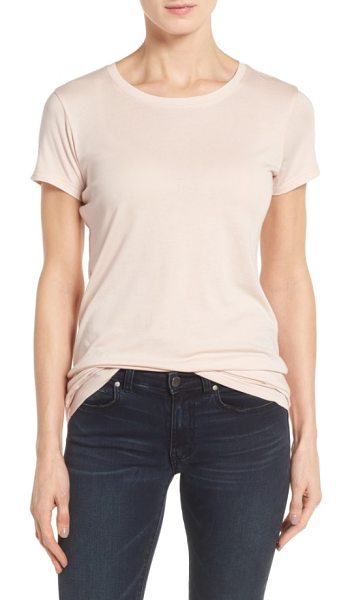Halogen halogen short sleeve crewneck tee in pink smoke - A collect-every-color staple for spring, this crewneck...