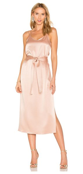 HALSTON Double Strap Slip Dress - Self: 75% triacetate 25% polyLining: 100% poly. Dry...