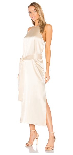 HALSTON Racer Slip Dress - Shell: 78% triacetate 22% polyLining: 100% poly. Dry...