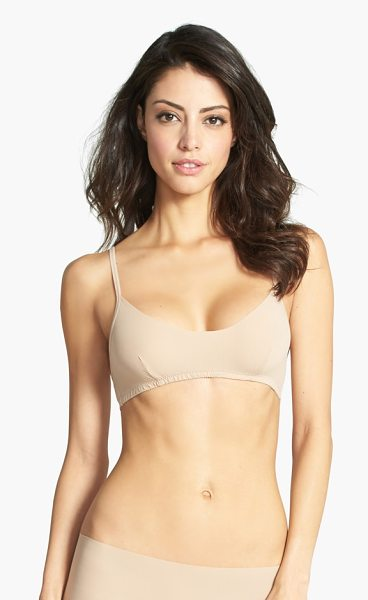 Hanky Panky bare bralette in taupe