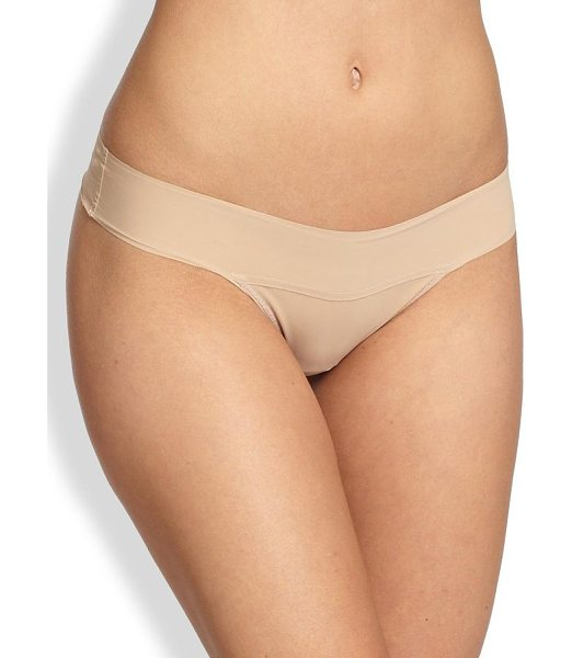 HANKY PANKY bare eve natural-rise thong - Made from a unique second-skin microfiber knit from...