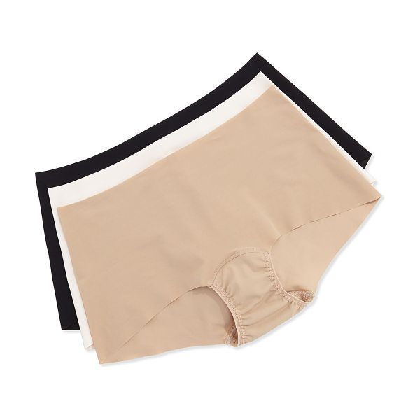 Hanky Panky Bare Seamless Boyshorts in taupe - Hanky Panky soft stretch knit boyshorts in your choice...