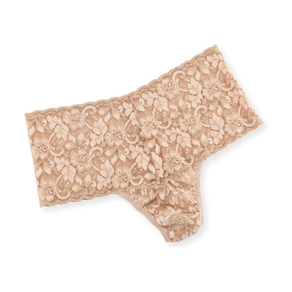 Hanky Panky Cross-Dyed Retro Thong in taupe