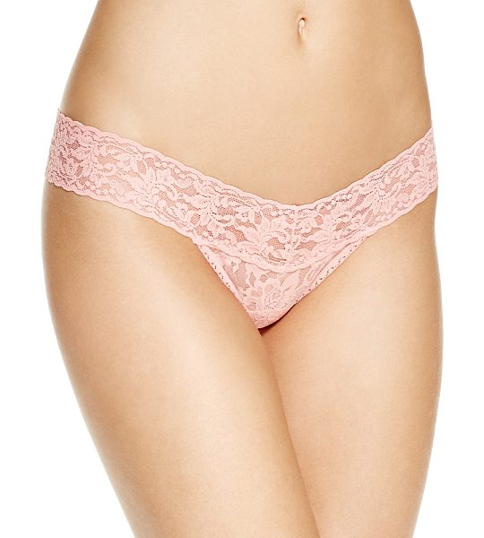 Hanky Panky Low-Rise Thong in first blush