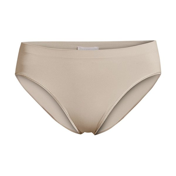 Hanro high-cut brief in peony
