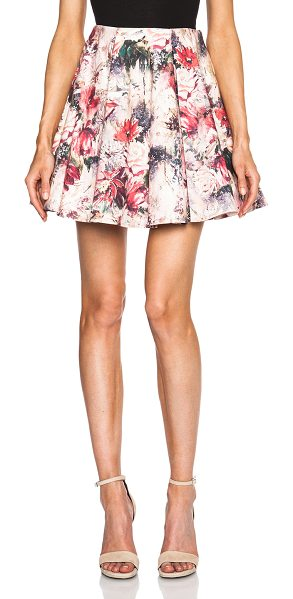 Haute Hippie Printed flirty skirt in pink,floral - Self: 95% cotton 5% elastan - Lining: 95% poly 5%...