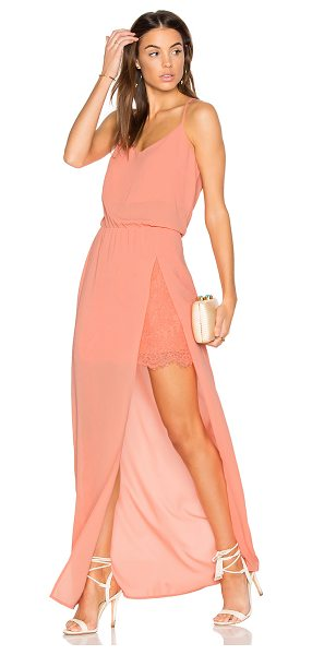 Heartloom Anndra Dress in coral - Shell: 100% polyContrast: 100% nylon. Dry clean only....