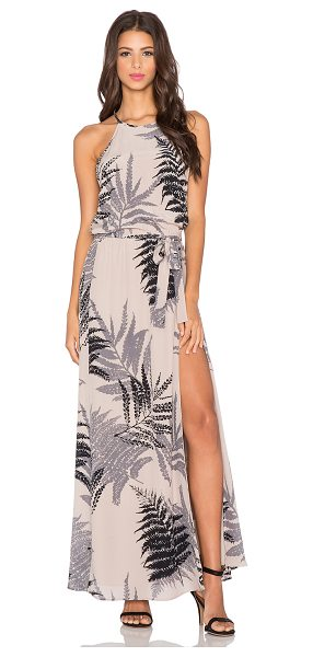 HELENA QUINN Mila maxi dress in beige - Self: 100% silkLining: 100% poly. Dry clean only. Lined....