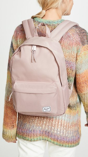 Herschel Supply Co. classic mid volume backpack in ash rose