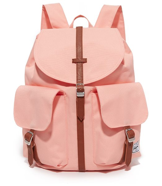 Herschel Supply Co. dawson backpack in apricot blush - A sturdy backpack from Herschel Supply Co. Magnetic,...