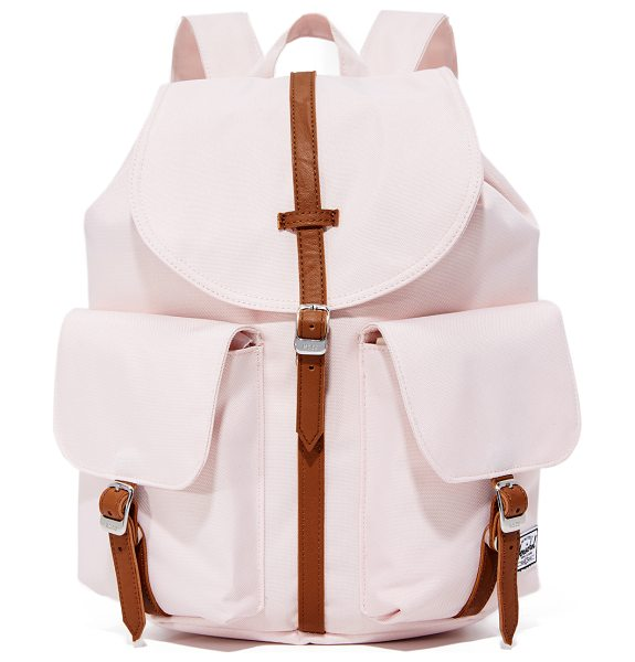 Herschel Supply Co. dawson backpack in cloud pink/tan - A simple Herschel Supply Co. backpack in a sturdy weave....