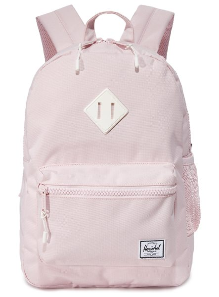 HERSCHEL SUPPLY CO. exclusive heritage backpack - A pastel-pink Herschel Supply Co. backpack with a mesh...