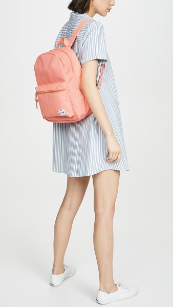 Herschel Supply Co. grove small backpack in fresh salmon