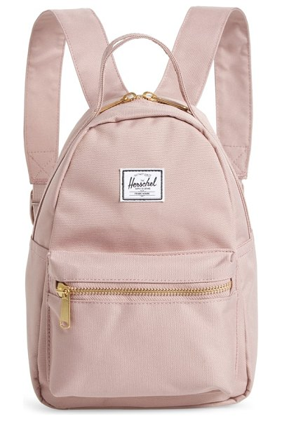 Herschel Supply Co. mini nova backpack in pink - Perfect for urban adventures, this scaled-down backpack...
