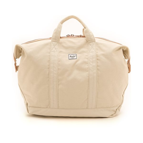Herschel Supply Co. Ryder carryall in natural - A voluminous Herschel Supply Co. tote with a slouchy...