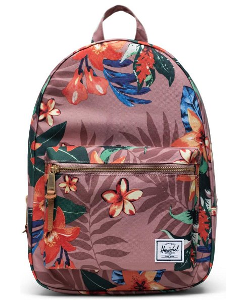 Herschel Supply Co. small grove summer floral backpack in pink