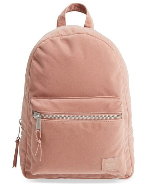 Herschel Supply Co. x-small velvet grove backpack in ash rose