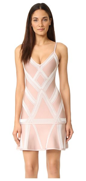 HERVE LEGER Knit cocktail dress - A sleek, striking Herve Leger bandage dress with a...