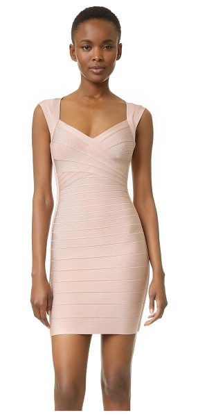 HERVE LEGER Sarai dress - A sleek Herve Leger bandage dress in a fitted profile....