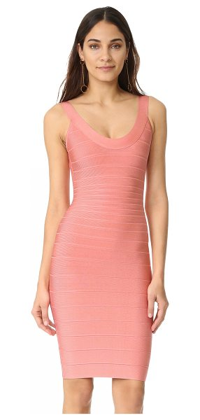 HERVE LEGER sleeveless cocktail dress - Exclusive to Shopbop. A classic Herve Leger bandage...