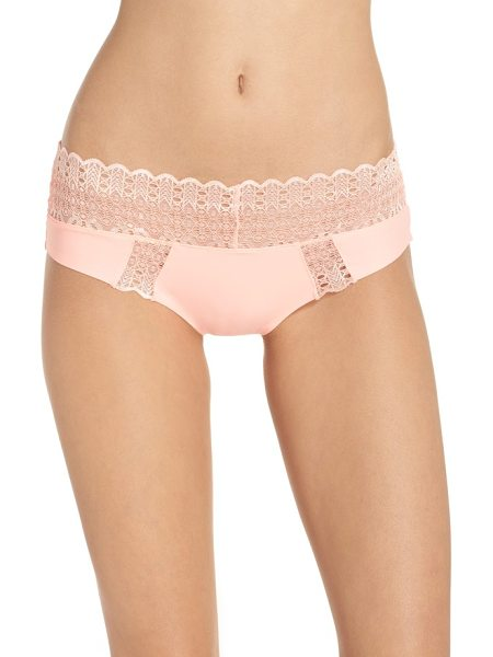 HONEYDEW INTIMATES lace hipster briefs - Indulge in ultrasoft, low-rise briefs iced by scalloped...