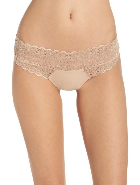 HONEYDEW INTIMATES lace thong - Indulge in an ultrasoft, low-rise thong iced by...