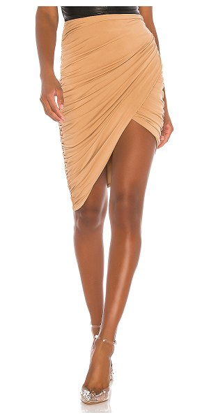 h:ours livia skirt in light hazelnut
