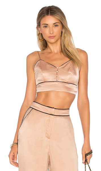 House of Harlow 1960 x REVOLVE Bailey Bralette in blush - Sultry and cropped, the Bailey Bralette by House of...