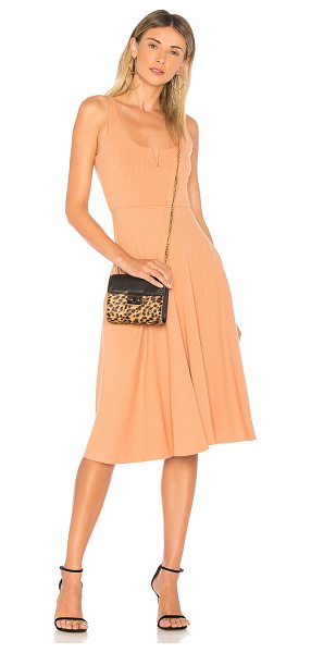House of Harlow 1960 x REVOLVE Ella Tank Dress in blush - Self & Lining: 95% rayon 5% elastane. Hand wash cold....