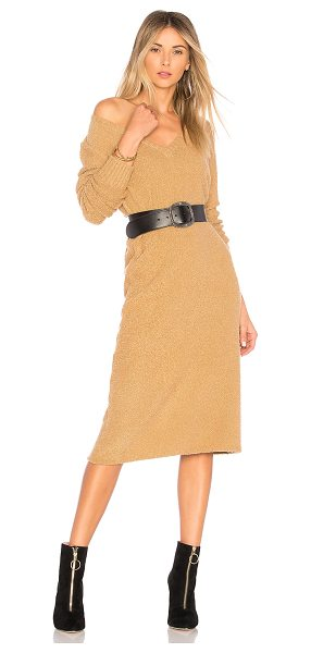 House of Harlow 1960 x REVOLVE Juli Midi in tan - Cozy yet chic, House of Harlow 1960's Juli Midi has your...