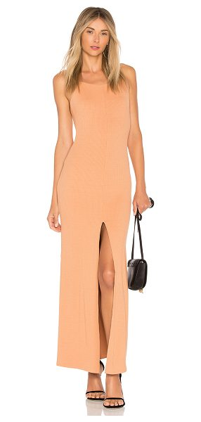 House of Harlow 1960 x REVOLVE Lina Maxi in peach - Bring neutrals into fall with the Lina Maxi by House of...