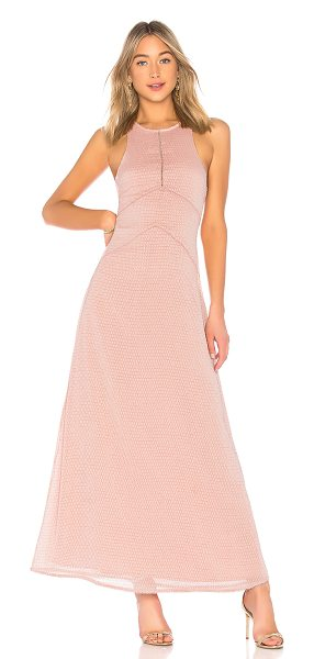 HOUSE OF HARLOW 1960 x REVOLVE Allegra Maxi in rose - Self & Lining: 100% poly. Hand wash cold. Fully lined....