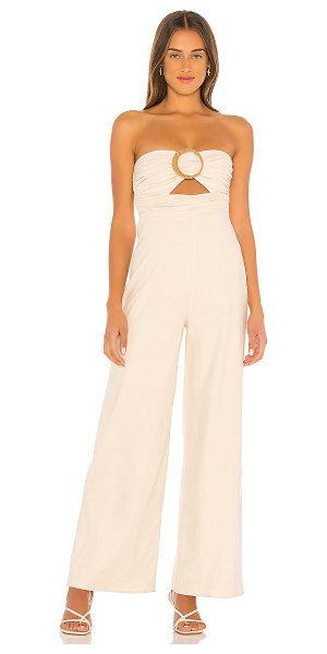 House of Harlow 1960 x revolve amma jumpsuit in natural