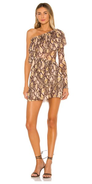 House of Harlow 1960 x revolve aries dress in python multi