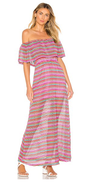 """House of Harlow 1960 X REVOLVE Dina Dress in pink - """"Self: 92% poly 8% spandexLining: 95% rayon 5% spandex...."""