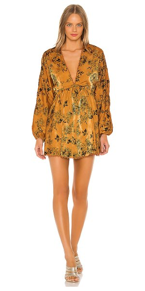 House of Harlow 1960 x revolve edwin dress in copper floral
