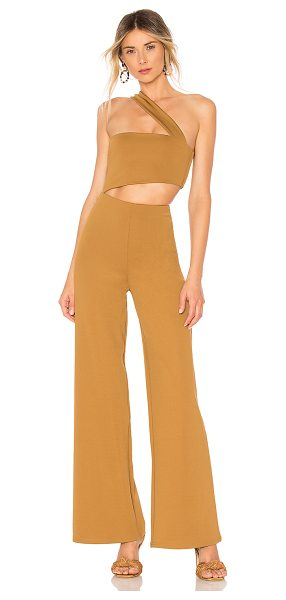 House of Harlow 1960 x revolve fabien jumpsuit in toffee