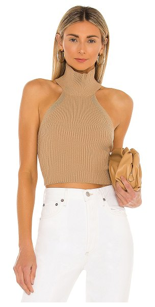 House of Harlow 1960 x revolve heather halter top in toffee