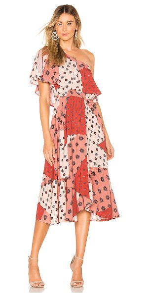 House of Harlow 1960 x revolve leya dress in rose patchwork