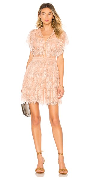 House of Harlow 1960 x revolve louis dress in rose