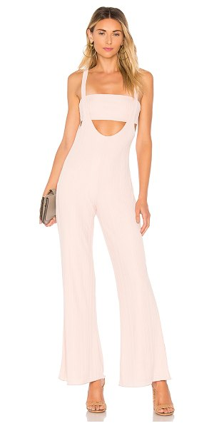 "HOUSE OF HARLOW 1960 x REVOLVE Morin Jumpsuit - ""Self: 95% poly 5% elastaneLining: 100% poly. Hand wash..."