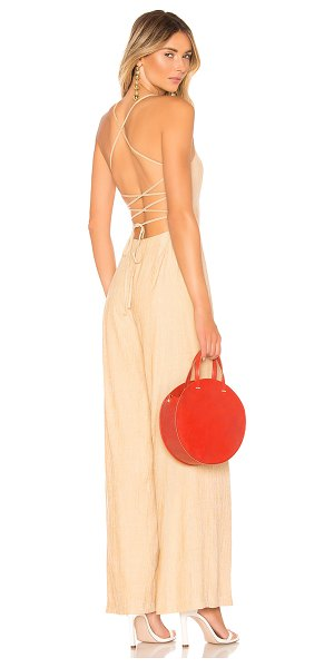 House of Harlow 1960 x revolve natalie jumpsuit in almond
